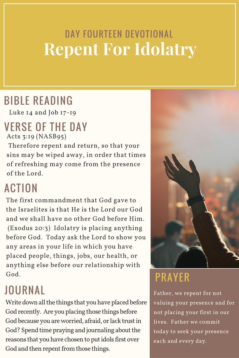 Day 14 - 21 Day Devotional