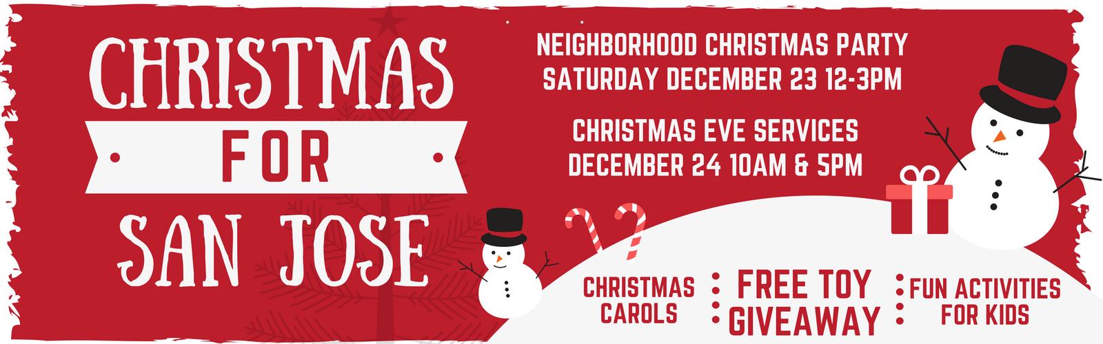 Christmas for San Jose