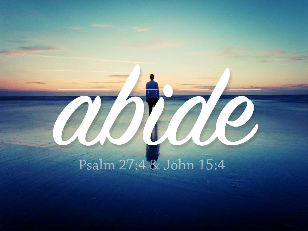 Learning To Abide | Rohi Christian Church